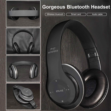 Best Wireless headphone Bluetooth Headphone with microphone FM Radio Micro SD St