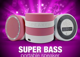 Mini Bluetooth Wireless Super Bass Speaker
