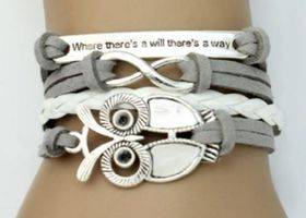 "♥Infinity Owl ""Where There's A Will There's A Way""♥"