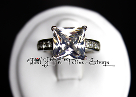 5 7 8 9 10 5.62ct Princess Cut AAA Grade CZ Ring