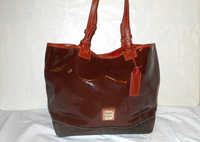 Dooney & Bourke Suede Bottom Large Tote – Pre-owned