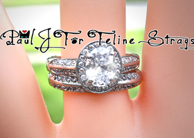 ✦ 6 7 8 9 10 Great Gatsby Inspired Stainless Ring Set
