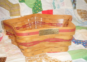2001 Longaberger Shining Star Basket