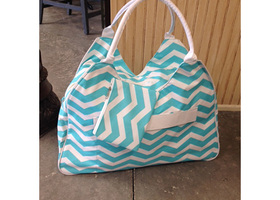 Chevron Beah Bag