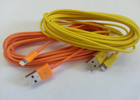 2 x 10 Ft. USB - 8 Pin Charge/Sync Cable for iPhone 5