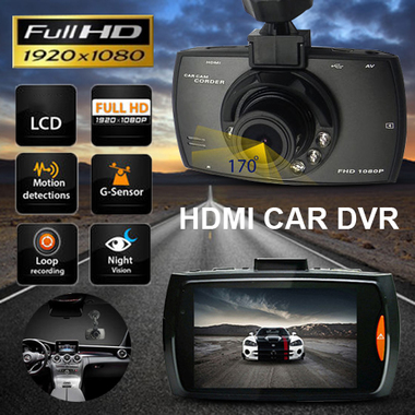 Car DVR Dash Camera Night Vision cam Vehicle Traveling Date Recorder Tachograph