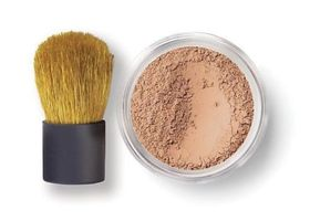 bareMinerals Medium Beige Foundation & Brush Mini Sizes