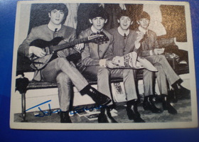 Authentic Beatles Card of John Lennon year 1964