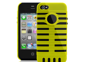 Hybrid Hard Heavy Duty Protective Case for iPhone 4/4S