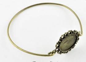 Antiqued Bronze Bangle Kits