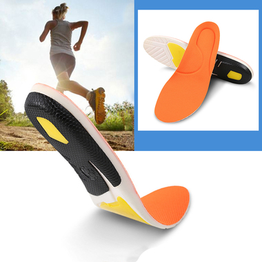Mesh Breathable Shock Absorber Sports Insoles
