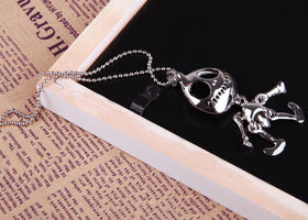 Cute Skeleton Pendant Necklace