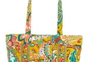 Vera's Little Mandy purse/tote-New w/tags-Provencal