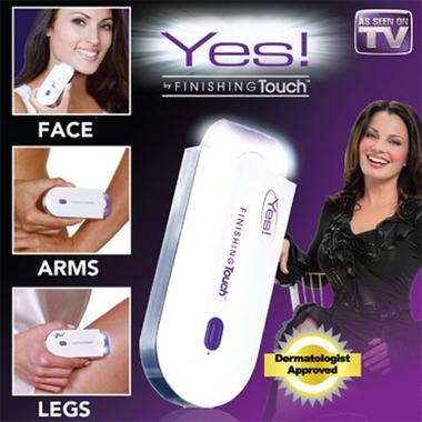 YES Finishing Painless Hair Removal Women Touch Body Hair Remover Epilator Profe