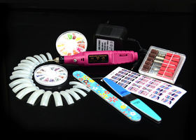 Electric Nail Art Drill Art Polish TIPS SET