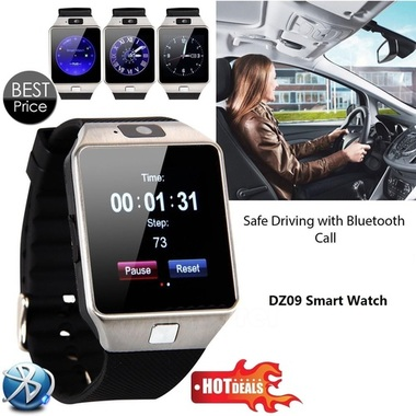 2016 New Smart Watch dz09 With Camera Bluetooth WristWatch SIM Card Smartwatch F