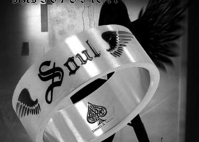 ♣ Winged Soul Stainless Steel  ♣