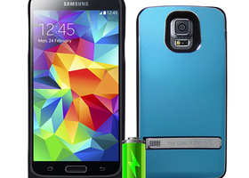 External Battery Metal Case For Samsung Galaxy S5
