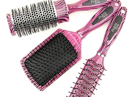 3 Piece Hair Brush Set