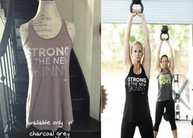 'Strong is the New Skinny' Tank