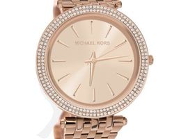 Michael Kors Rose Gold Stainless Steel Women's Watch