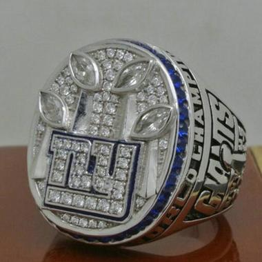 Fans Ring NFL 2011 New York Giants championship ring