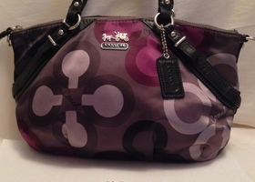 Coach Madison Clover Sophia Satchel