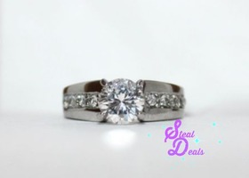 Petite and Perfect Stainless Steel Ring