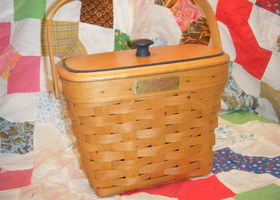 Very Rare 1995 Longaberger Dresden Basket