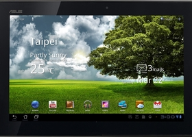 Asus TF101-A1 Transformer Tablet 16GB - Espresso