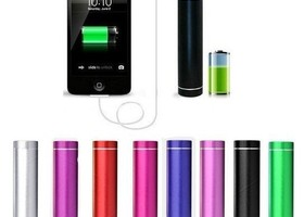 Technobelta 2600mAh USB External Battery Power Bank