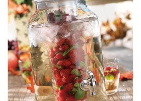 Glass Infusing Drink Dispenser NIB