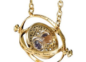 WIZARDING WORLD ROTATING TIME TURNER NECKLACE