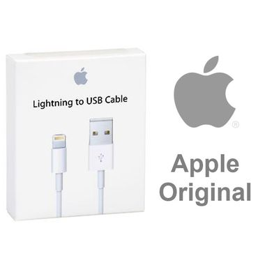 Apple Genuine 1M Lightning to USB 2.0 Cable - White