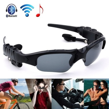 2017 Hot Sale Bluetooth 4.1 Intelligent Sunglasses with headset Stereo Wireless
