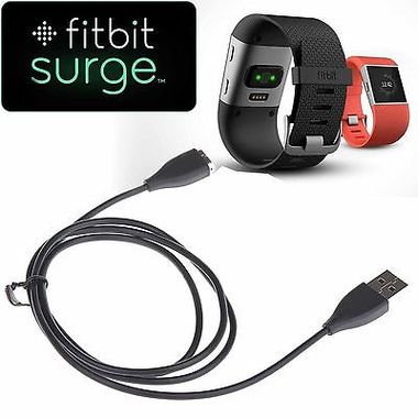 USB Charging Cable Replacement Charger for Fitbit SURGE Super Watch Smart Watch
