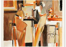 Yuri Tremler - Bar Scene I - $260