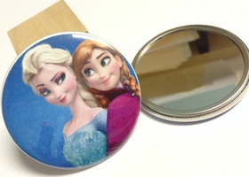 Set of 3 Frozen Pocket Mirrors