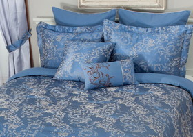 Blue Rhapsody 8 piece comforter set ~ Q
