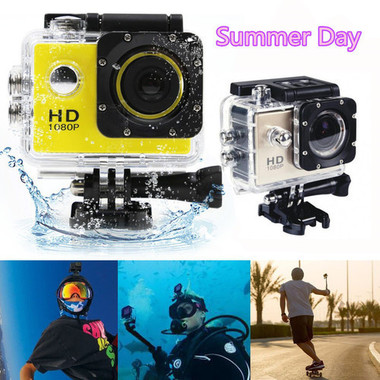 SJ4000 Sports HD DV 2-inch Screen 1080P Mini Cam Waterproof 30M Action Camera Ca