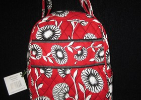 nwt Vera Bradley Let's Do Lunch Bag Deco Daisy