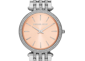 Michael Kors Darci Glitz Stainless Steel Ladies Watch