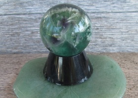 Fluorite Sphere Ball ~ 30 mm~ Dispels Negative E