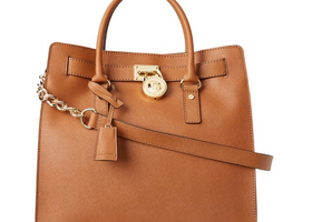 Michael Kors Hamilton Large North South Leather Tote