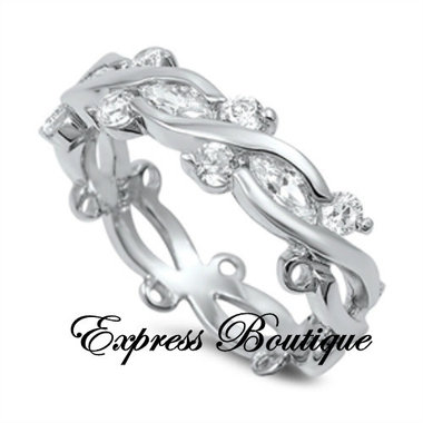 Free Spirit 925 Solid Sterling Silver Band