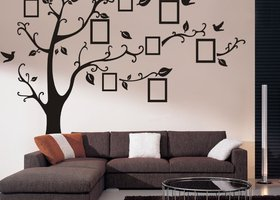 XXL Picture Frame Tree Wall Art