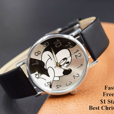FREE Shipping !!! Amazing gift for your family and friends! Mouse cartoon watch