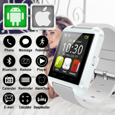 U8 Bluetooth Smartwatch Support SIM 32G TF for All Phone