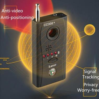 Wireless Signal Bug Detector Hidden Camera Video GPS Device Tracer Finder CC308+
