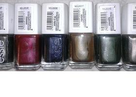 Starting with 3 Essie Nail Polish Mettalic Colors